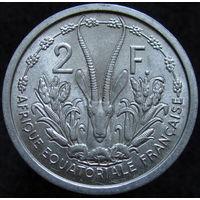 Фр. Экват. Африка 2 франка 1948 (392)