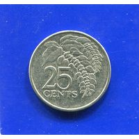 Тринидад и Тобаго 25 центов 2005