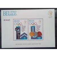 Белиз Олимпиада 1980