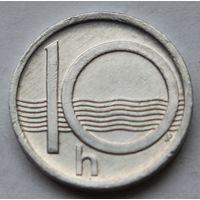 Чехия 10 геллеров, 2000 г.