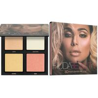 Палетка хайлайтеров Huda Beauty 3D Highlighter Palette (в оттенке Pink Sands Edition)