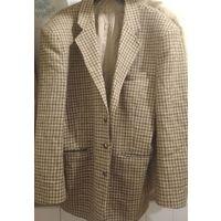 Пиджак Мужской - Теплый Осень шерсть, Англия Chelsea Man, б-у ; 30 руб
