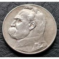 5 злотых 1934 Пилсудский