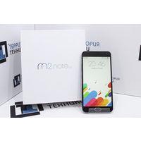 "Серый 5.5"" MEIZU M2 Note 16GB (8 ядер, Full HD, 2 SIM). Гарантия"