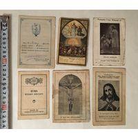 Католические памятки PAMIATKА 6 штук Цена за все