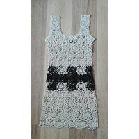 Туника, платье вязаное крючком
