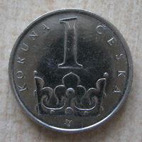Чехия 1 крона 2009 год