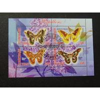 Чад 2013г. Бабочки.