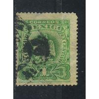 Мексика 2-я Респ 1899 Герб Стандарт #226