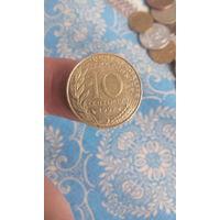 327# 10 сантимов 1997. франция