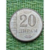 Таджикистан 20 дирам, 2017 год