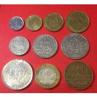 Франция, 10 монет