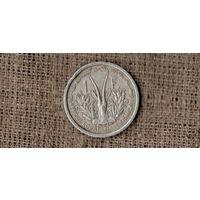 Французская Экваториальная Африка 1 франк 1948 /фауна/ (МР)