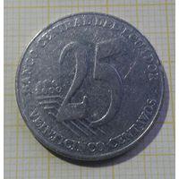 Эквадор 25 сентаво 2000