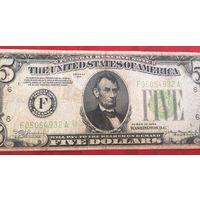 Пять долларов SERIES OF 1934 г