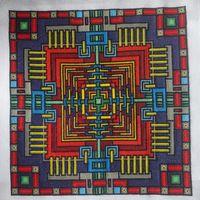 Авторская схема для вышивки крестиком/бисером