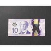 Канада. 10 долларов образца 2013 года. UNC.