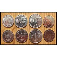 Индонезия набор 4 монеты 2016 UNC