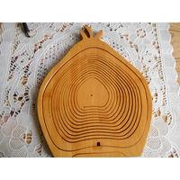 Фруктовница из бамбука.