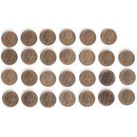 Франция, 10 сантимов centimes. ПОГОДОВКА, 1963-1998