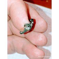 Старинные кольцо с камнями