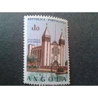 Ангола, колония Португалии 1963 кирха