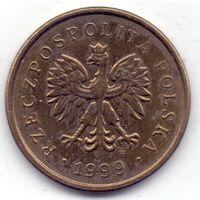 Польша, 2 гроша 1999 года.