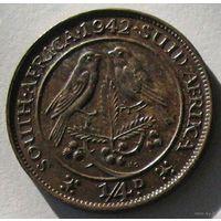 Южная Африка, 1/4 пенни (фартинг) 1942