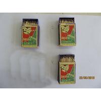Советские спички в деревянных коробках. Цена за 1