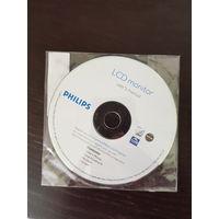 Диск с инструкцией к монитору Philips 17''