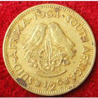 6815:  1/2 цента 1964 ЮАР