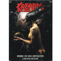 """DVD - Kreator - """"Enemy Of God Revisited"""" 2006. (Limited Edition) Germany."""