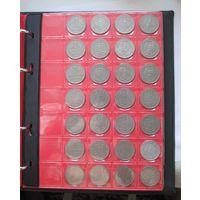 ПОЛНАЯ КОЛЛЕКЦИЯ Германия ФРГ 1 марка 1948-1994 все монетные дворы - 173 монеты, погодовка без повторов!