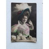 Открытка гламурная до 1917 г