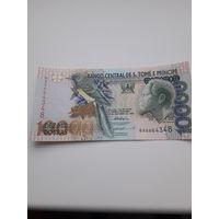 САН- ТОМЕ И ПРИНСИПИ 10000 добра 1996 год
