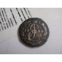Российская Империя деньга 1770 г.,  Екатерина 2-я