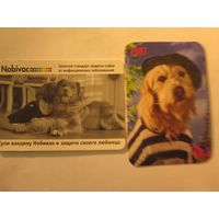 Календарики с собакой