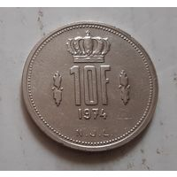 10 франков 1974 г. Люксембург