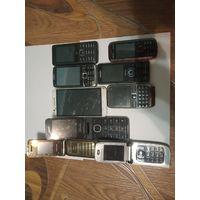 Сборный лот телефонов