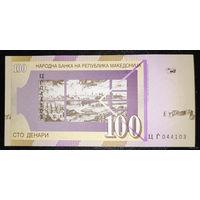 РАСПРОДАЖА С 1 РУБЛЯ!!! Македония 100 динаров 2008 год UNC