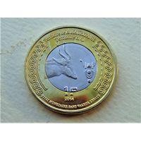 """Мавритания 1 франк 2014 """"100 лет Первой Мировой"""""""
