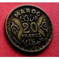 05-28 Марокко, 20 франков 1951 г.