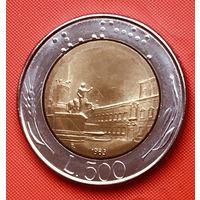 23-14 Италия, 500 лир 1983 г.