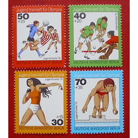 Германия. Западный Берлин. Спорт. ( 4 марки ) 1976 года.