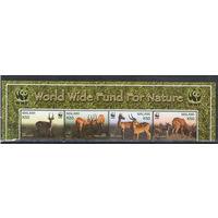 Малави WWF Газели 2003 год чистая полная серия в верхней части листа