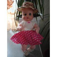 Кукла в шляпке30см