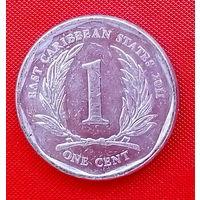 30-20 Восточные Карибы, 1 цент 2011 г.