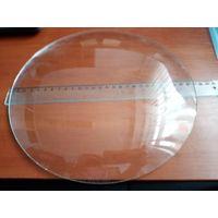 В Часы напольные немецкие. Стекло сферическое, 27 см.