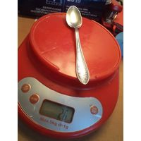 Чайная ложка, 875 проба, 26 грамм.