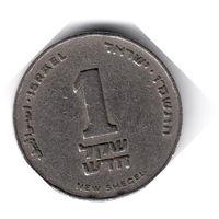 Израиль. 1 новый шекель. 1986 г. (не магнит)